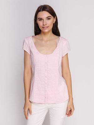 Блуза розовая | 4647527