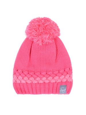 Шапка рожева на флісі   4695231