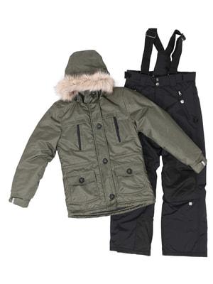 Комплект: куртка и полукомбинезон | 4695244