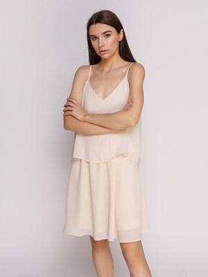 Сукня кольору пудри | 4514097
