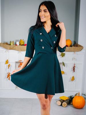 Сукня пляшкового кольору   4707256