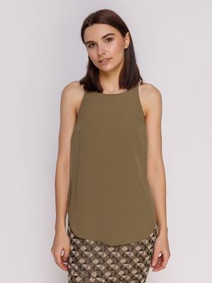 Блуза цвета хаки | 4640680