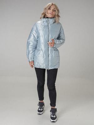 Куртка голубая | 4705198