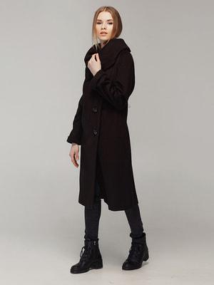Пальто коричневе | 4705224