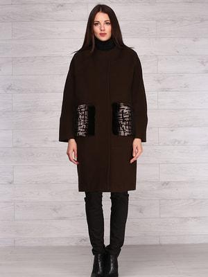 Пальто коричневое | 4705241