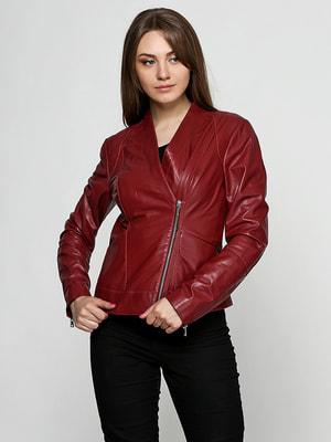 Куртка бордова | 4705295