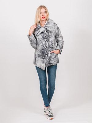 Куртка сіра | 4705305