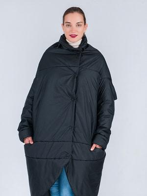 Пальто чорне | 4705101