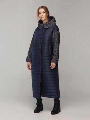 Пальто синє | 4705183