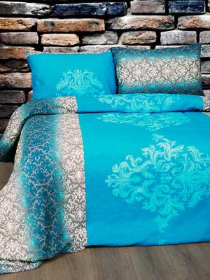 Комплект постельного белья двуспальный (евро) | 4688225