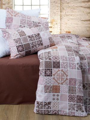 Комплект постельного белья двуспальный (евро)   4707179