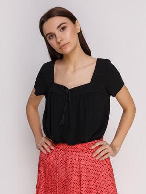 Блуза черная | 4651737