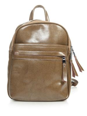 Рюкзак темно-песочного цвета   4706761