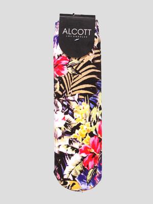 Носки в цветочный принт | 4639262
