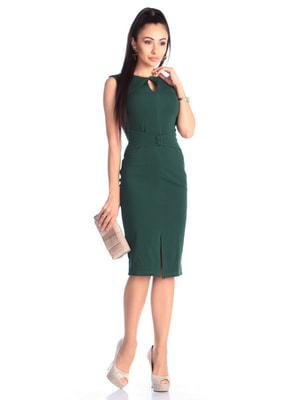 Сукня темно-смарагдова | 4701279