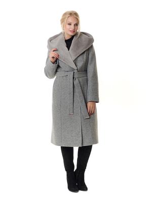 Пальто сіре   4709197