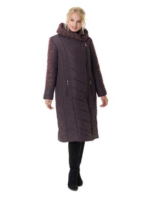 Пальто бордовое | 4709198