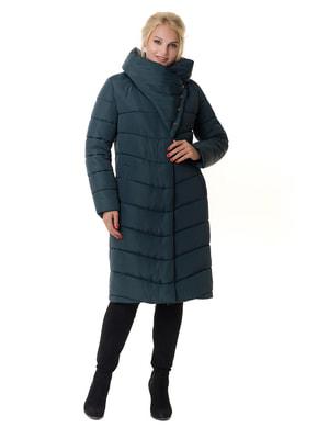 Пальто темно-изумрудное | 4709199
