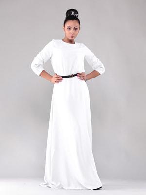 Платье молочного цвета   4690443