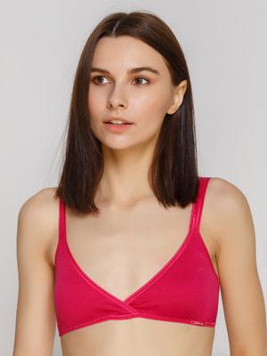 Бюстгальтер рожевий підлітковий | 2627415