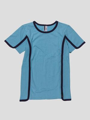 Футболка блакитна підліткова | 2689332