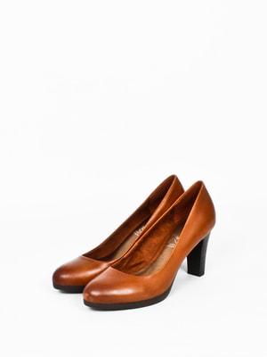 Туфлі рудого кольору | 4601622