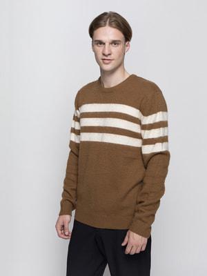 Джемпер коричневий | 3274459