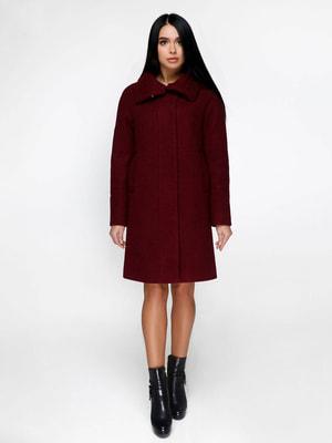 Пальто темно-червоне | 4711638