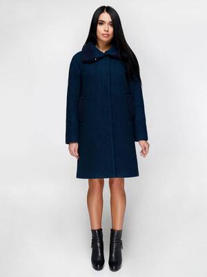 Пальто синє | 4711640