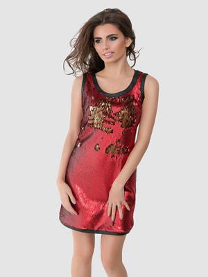 Платье красное   4711029