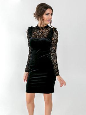 Платье черное   4711025