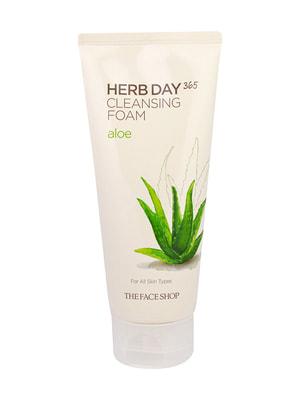 Пінка для вмивання Herb Day 365 з екстрактом алое (170 мл) | 4712294