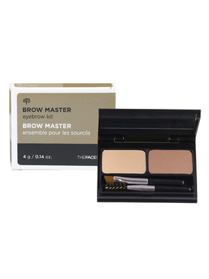Палетка для макіяжу брів TFS Browmaster Eyebrow Kit № 01 - beige brown (4 р) | 4712305
