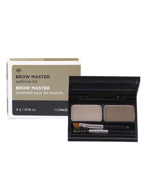 Палетка для макіяжу брів TFS Browmaster Eyebrow Kit № 02 - gray brown (4 р) | 4712306