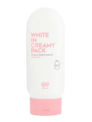 Маска для обличчя і тіла з ефектом освітлення White In Creamy Pack (200 мл)   4712322