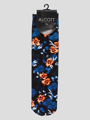Носки в цветочный принт | 4627089