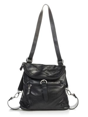 Сумка-рюкзак черная | 4712599