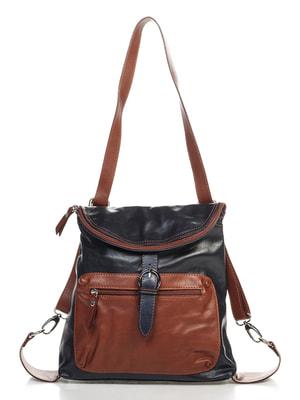 Сумка-рюкзак двоколірна | 4712604