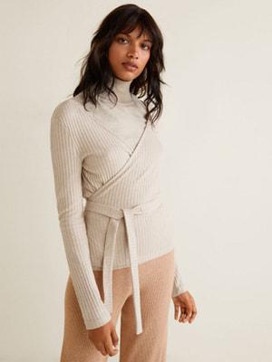 Пуловер бежевий | 4688375