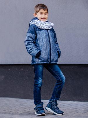 Куртка синя | 4714895