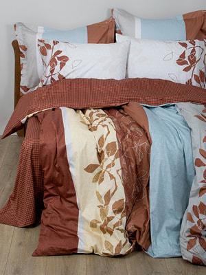 Комплект постельного белья двуспальный (евро) | 4133423