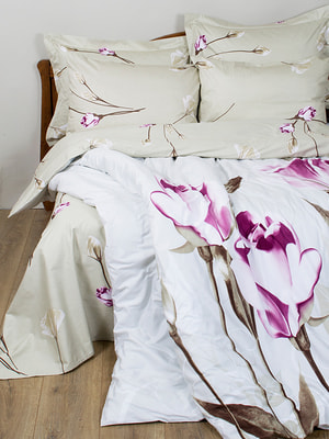 Комплект постельного белья двуспальный (евро) | 4133427