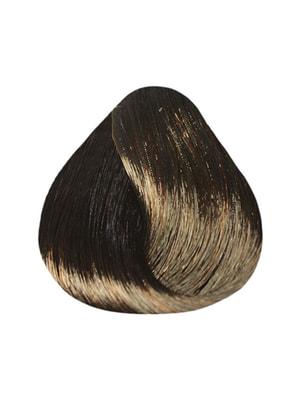 Фарба-догляд De Luxe - шатен коричневий для сивини (60 мл) | 4693666