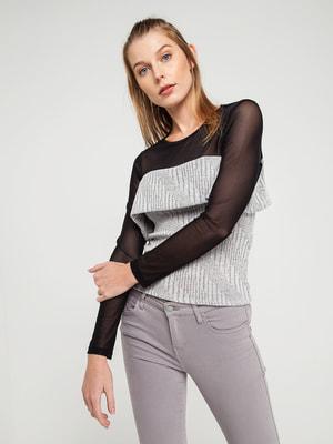 Блуза сіра | 4351213
