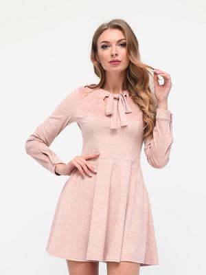 Сукня пудрового кольору | 4716824