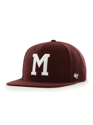 Бейсболка коричневая с вышивкой   4594279