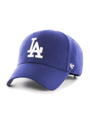 Бейсболка синя з вишивкою | 4650523