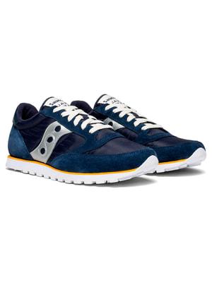 Кроссовки синие Jazz Lowpro | 4715450