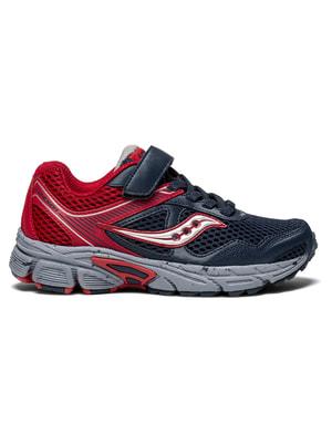 Кроссовки красно-синие Cohesion 10 A/C | 4715462