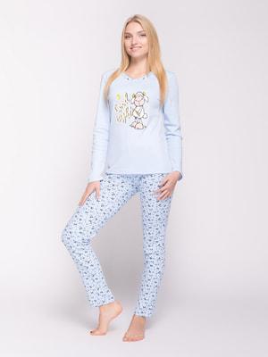 Пижама: лонгслив и брюки | 4714211